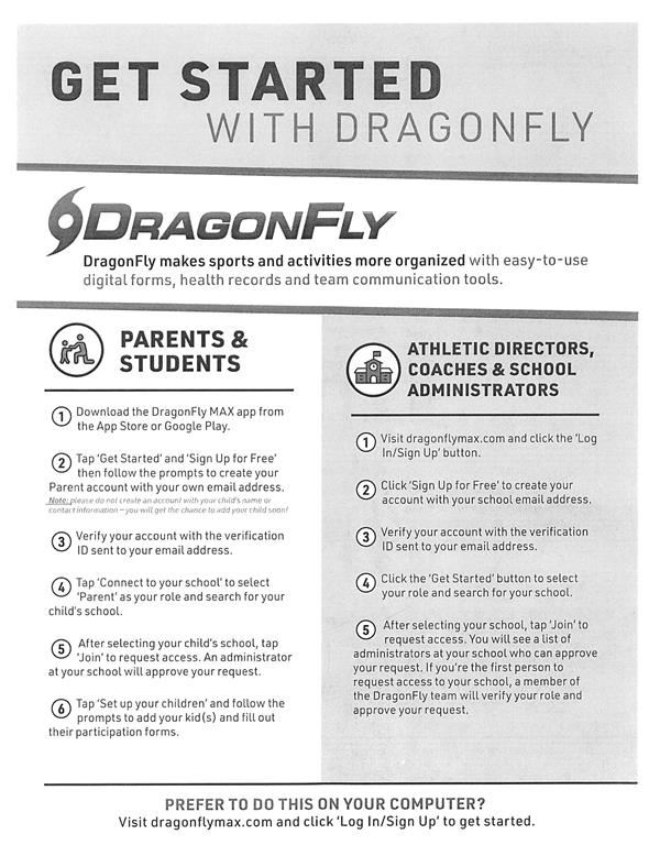 DragonFly Instructions