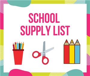 2020-2021 SES Supply List